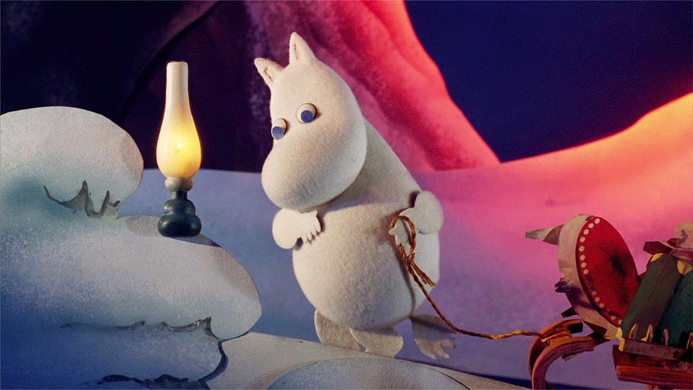 Čarobna zima v Mumindolu