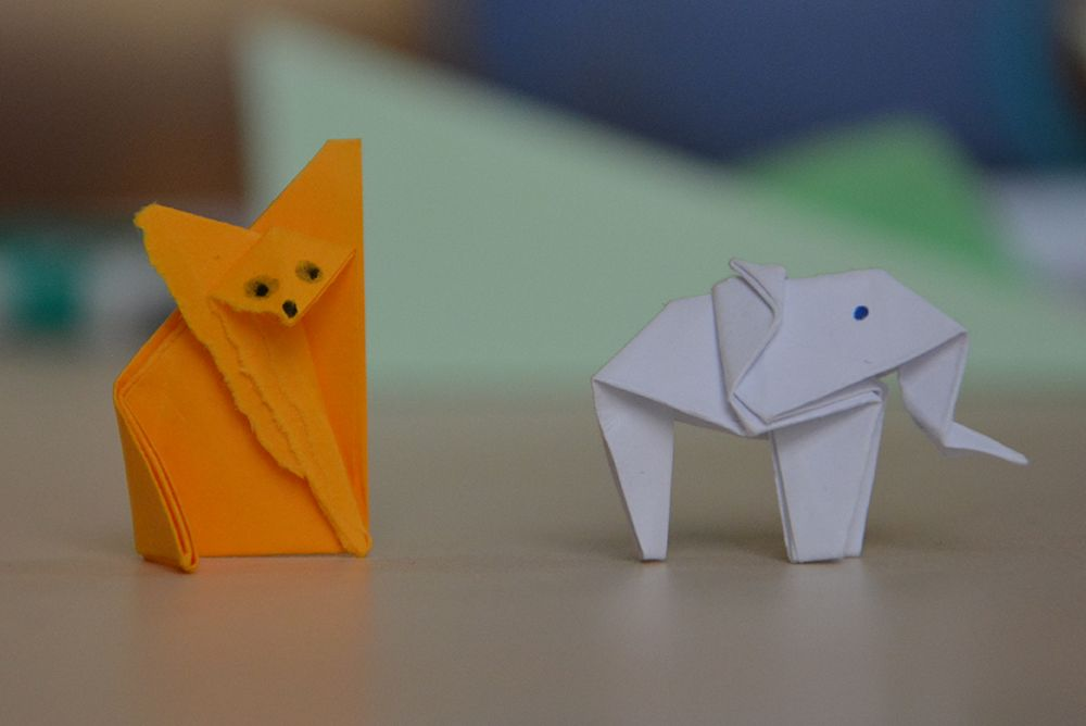Origami in animirani film