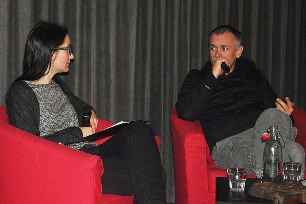 Večer z režiserjem Janezom Burgerjem