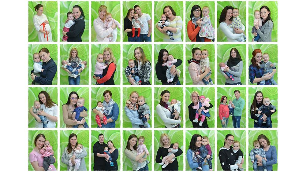 Kino + fotografiranje z dojenčki za materinski dan
