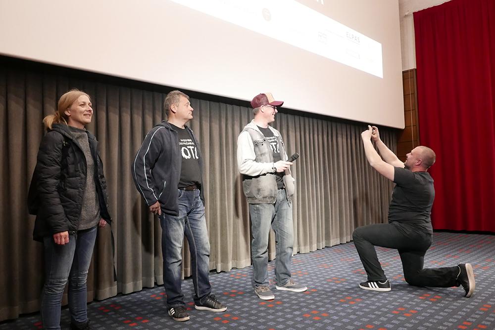 Pogovor s filmsko ekipo o(b) filmu Oto