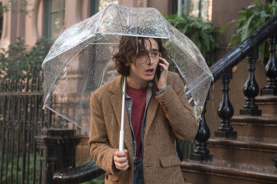 Deževen dan v New Yorku