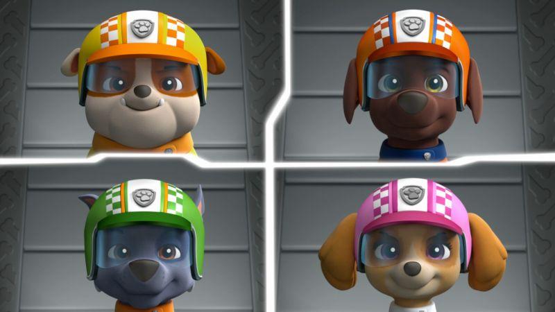 Tačke na patrulji: Pripravljeni, dirka, reševanje!