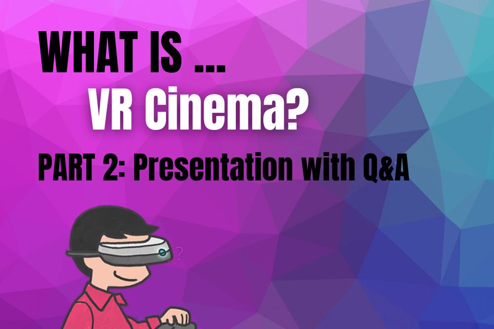 Kaj je VR kino? / What is VR Cinema? #2