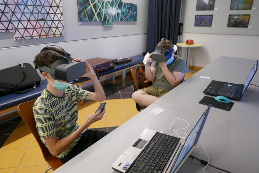 Ustvarjanje virtualnega sveta