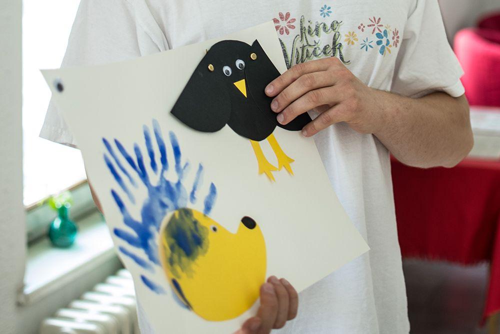 Pisani ježek in nagajiva vrana