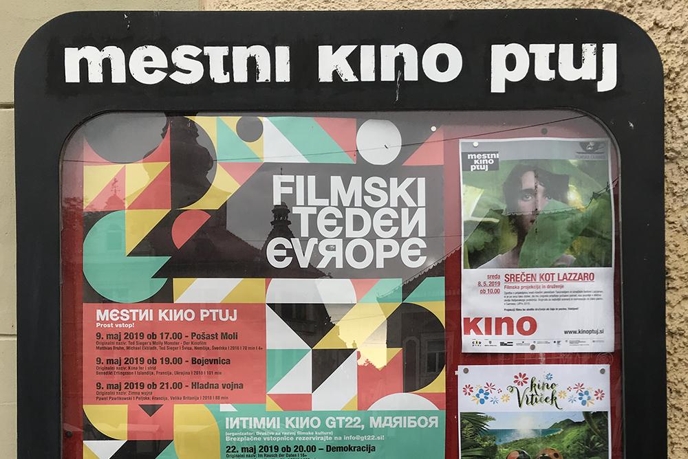 Filmski teden Evrope 2019